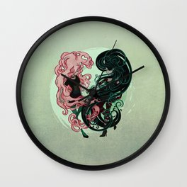 Bonnibel and Marcy: Complete me Wall Clock