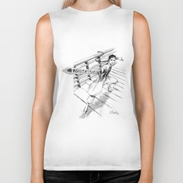 Crouching tiger hidden dragon Biker Tank