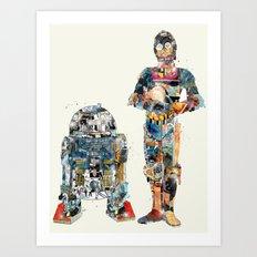 modern wars 1 Art Print