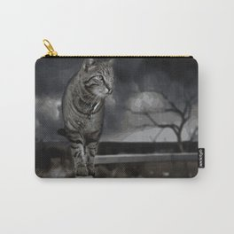 Cat Abstract Carry-All Pouch