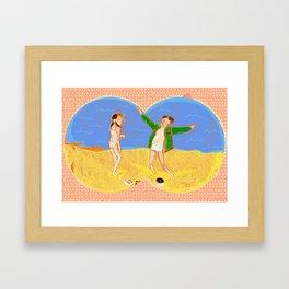 Tribute to Moonrise Kingdom Framed Art Print