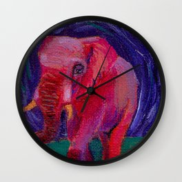 The Night Wanderer Wall Clock