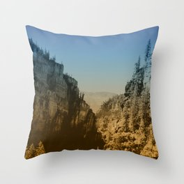 Valley Tryst Throw Pillow
