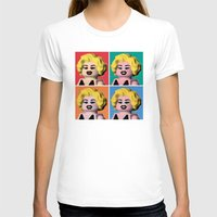 marilyn T-shirts featuring Marilyn by powerpig
