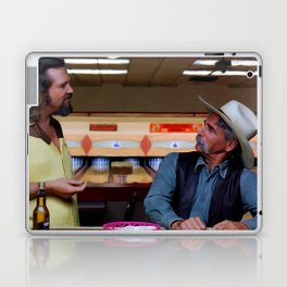 Jeff Bridges & Sam Elliot @ The Big Lebowski (Joel and Ethan Coen - 1988) Laptop & iPad Skin