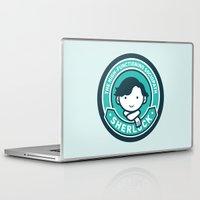 sherlock Laptop & iPad Skins featuring Sherlock by mydeardear