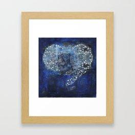 Heart Sutra Framed Art Print
