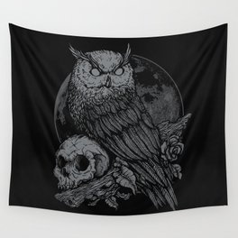 night watcher Wall Tapestry
