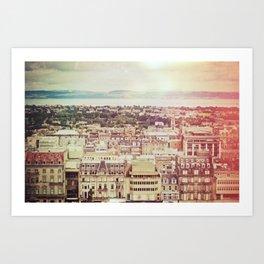 Edinburgh Love Art Print