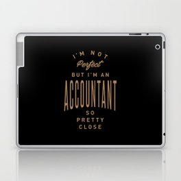 Accountant - Funny Job and Hobby Laptop & iPad Skin