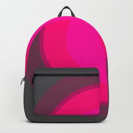 Hot Pink & Gray Focal Point Backpack