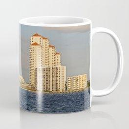 Shoreline in Fort Myers II Coffee Mug