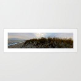 Winter at Chatham Beach Art Print
