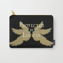 Protected by Lucifer Light Carry-All Pouch
