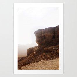 Cliff. Art Print