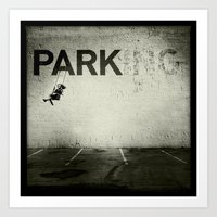 banksy Art Prints featuring Banksy Tag by Adam Reynolds