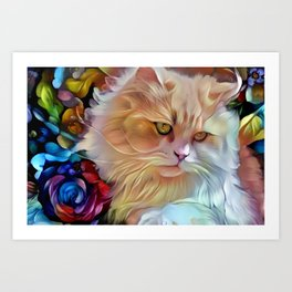 Pretty Kitty Art Print