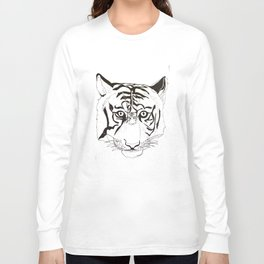 Triptych Tiger Long Sleeve T-shirt