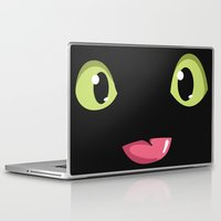 toothless Laptop & iPad Skins featuring Toothless by Tabner's