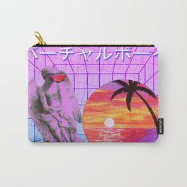 Vaporwave Carry-All Pouch
