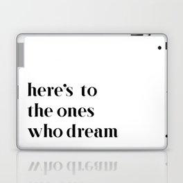 Here's to the ones who dream: La La Land Laptop & iPad Skin