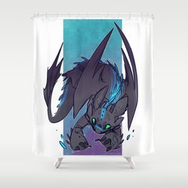 Alfa Toothless Shower Curtain