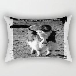 Action Yakson: King of the Yaks Rectangular Pillow