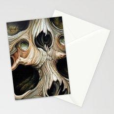 skull melt Stationery Cards
