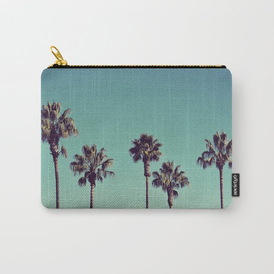 California Palm Trees Carry-All Pouch