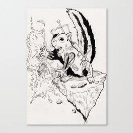 Tazer Canvas Print