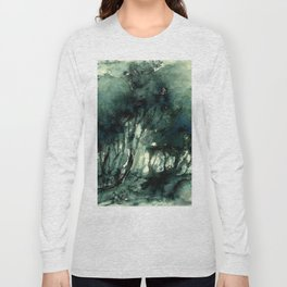 mürekkeple orman Long Sleeve T-shirt