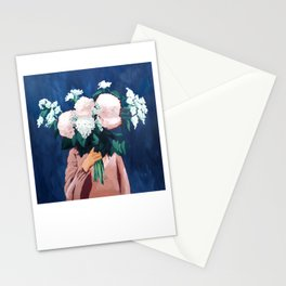 Posy III / Midnight Blooms Stationery Cards