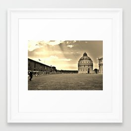 someone is watching Framed Art Print