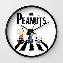 the peanuts Wall Clock