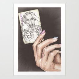 Is This Your Card? Art Print
