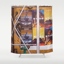 East Village Streets X Shower Curtain