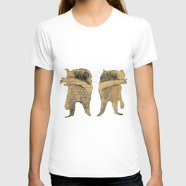 created with subconscious thought T-shirt
