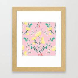 Candy Painted Spring Florals by Elizabeth Caparaz Framed Art Print