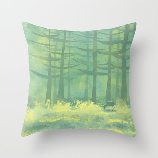 The Clearing Throw Pillow