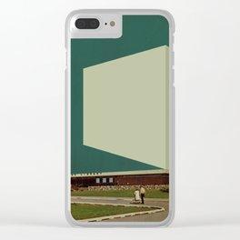 Block 46 Clear iPhone Case