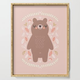 Dreamy Bear Serving Tray