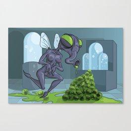 FLY MILF Canvas Print