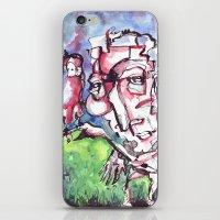 birdman iPhone & iPod Skins featuring Birdman by 5wingerone