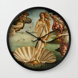 Birth Of Venus Sandro Botticelli Nascita di Venere Wall Clock