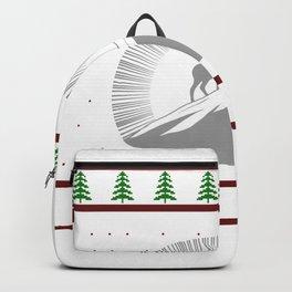 Ugly Christmas Goat Backpack