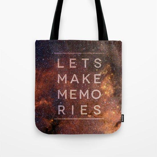 Let's Make Memories Tote Bag