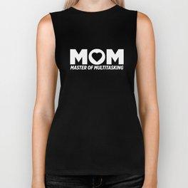 Mom Master Of Multitasking Biker Tank