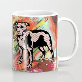 Super dog pop art Coffee Mug