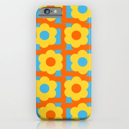 Vintage texture inverted iPhone Case