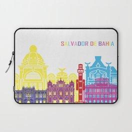 Salvador de bahia skyline pop Laptop Sleeve